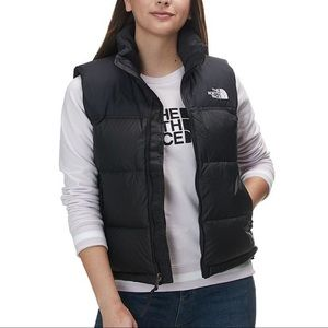 The Northface Black Puffer Vest 550 Size XS